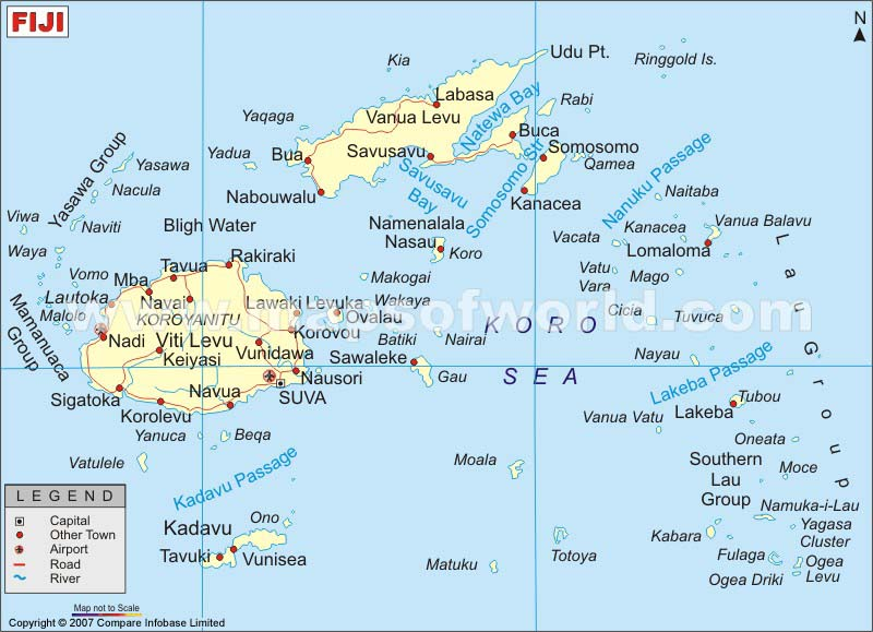Where Is Labasa Fiji Map